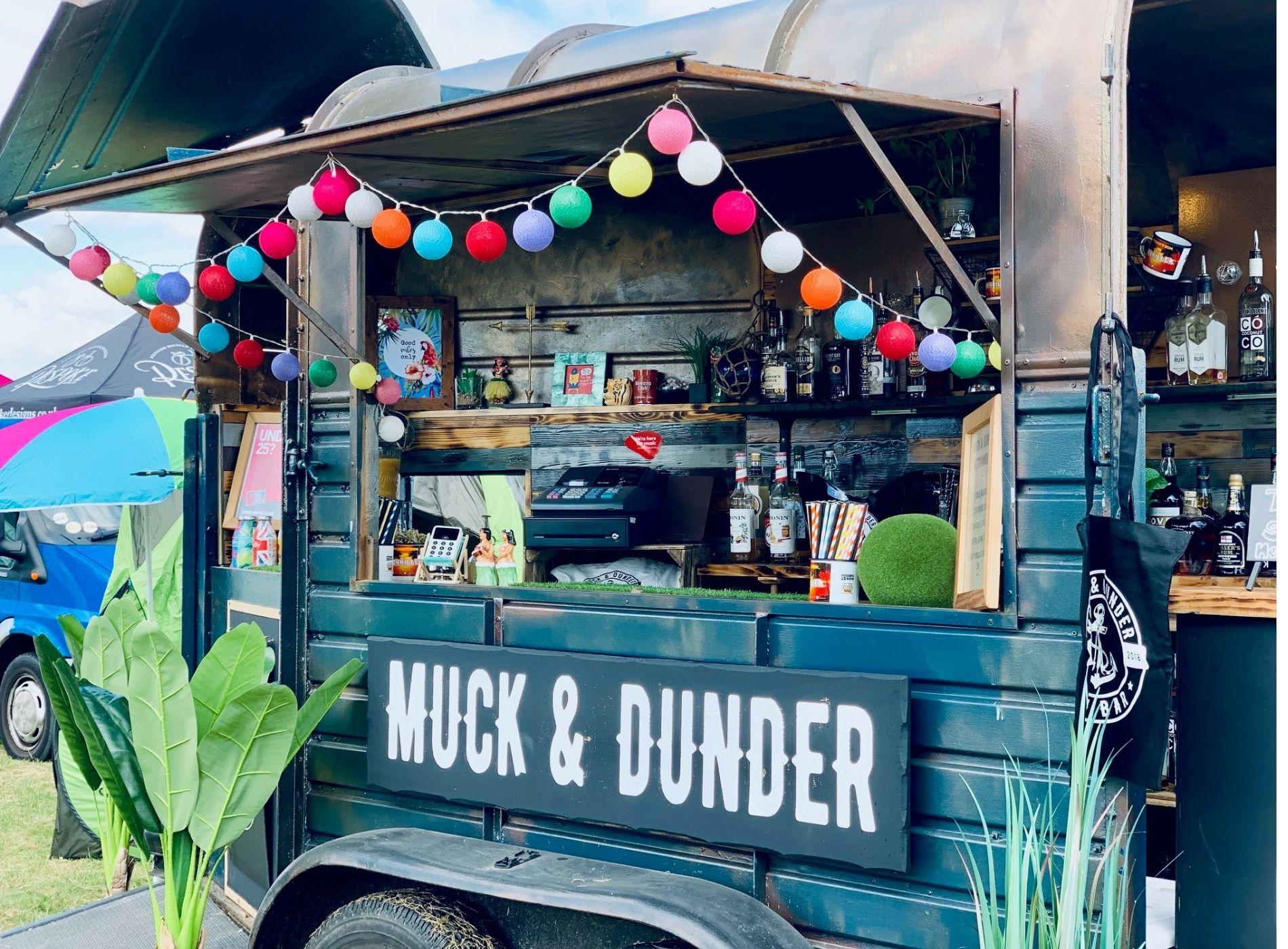 market stall Muck & Dunder