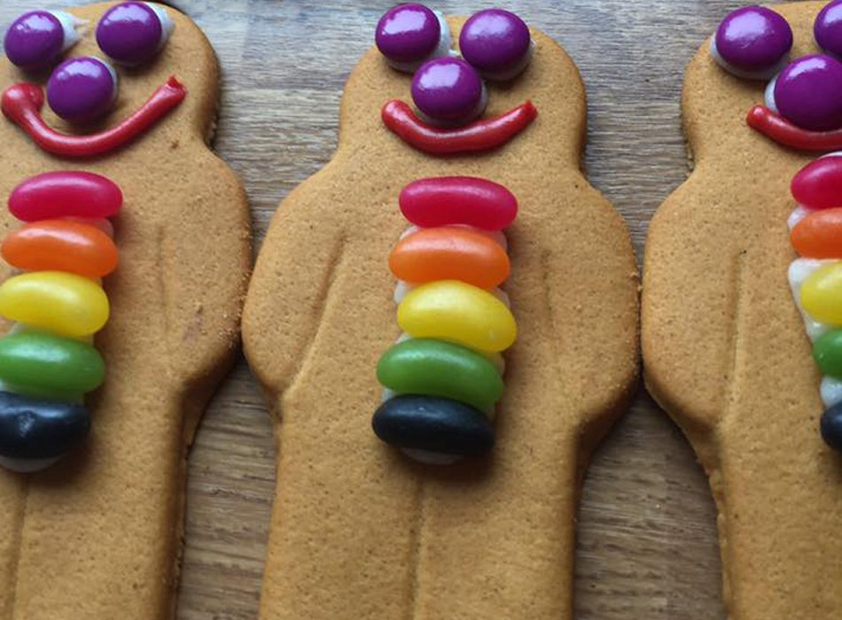 Jacqui's gingerbread men