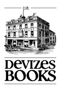 Devizes Books Logo with image of the bookshop