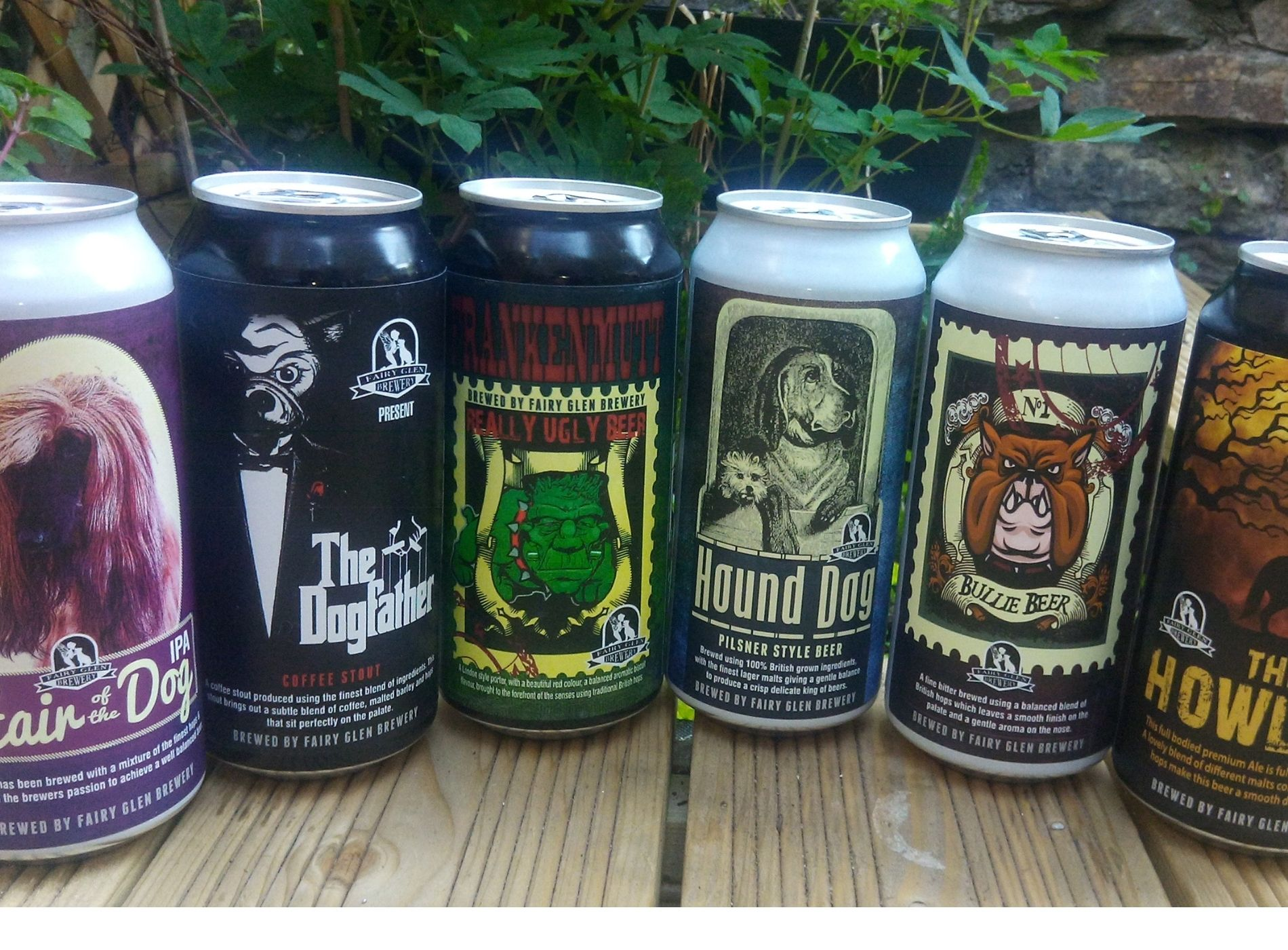 cans from Fairy Glen